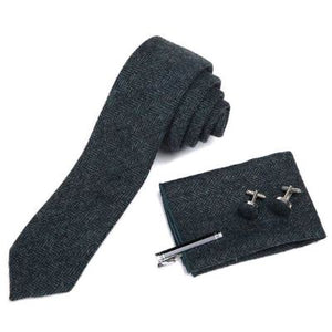 Wool Men's Tie Boxed Set