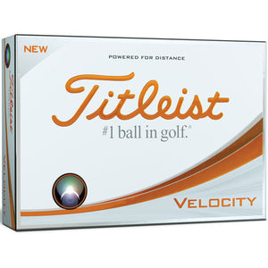 Titleist Velocity Golf Ball 12 Pack