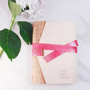 Embossed Lovely Bound Journal