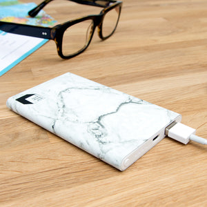 Marble Finish Power Bank