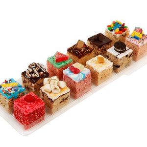 Treat House Gourmet Crispy Rice Treats with Gift Box