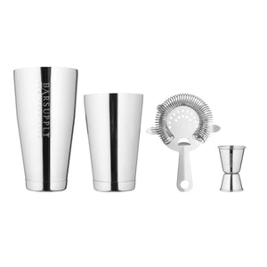 Silver Professional Cocktail Shaker Set