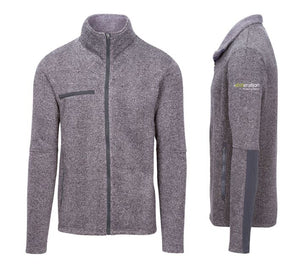 Xceleration-Branded Sweater Fleece Jacket, Men's (Limited)