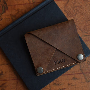 Wing Fold Card Case