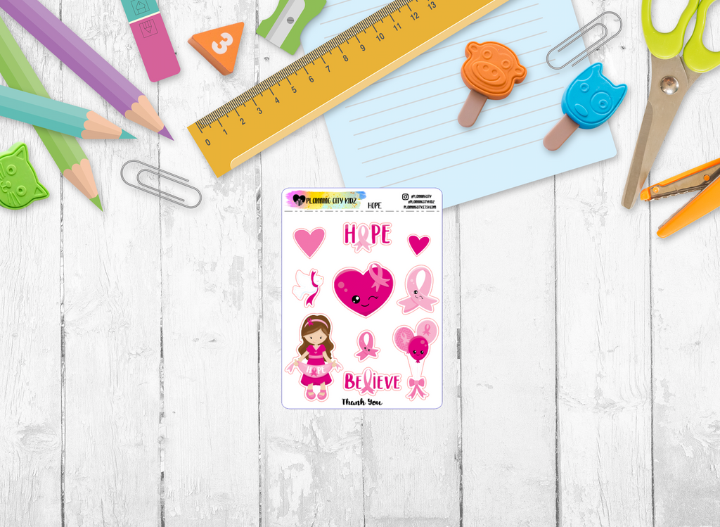 Hope Kidz Planner Stickers