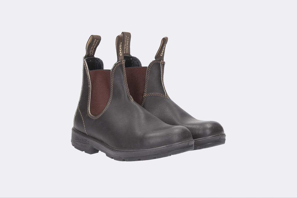 Blundstone 500 El Side Boot St Brown