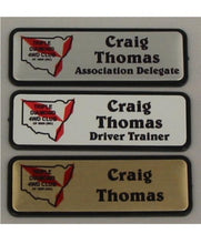 Load image into Gallery viewer, Name Badge 19 x 64 Pin/Clip Back - Clever Fridge Magnets