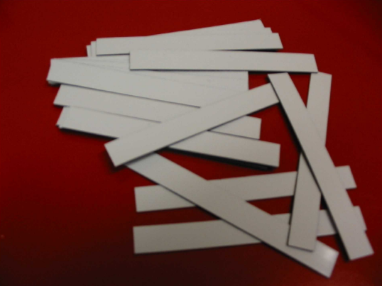 Magnetic Shelf Strips 20 x 102 - Clever Fridge Magnets