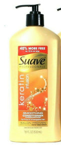 1 Bottles Suave Professionals 18 Oz Keratin Infusion Smoothing Conditioner