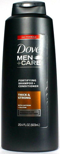 1 Dove Men +Care 2in1 Formula Fortifying Shampoo and Conditioner Thick and Stron