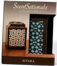 Load image into Gallery viewer, 1 Scentsationals Full Size Scented Wax Warmer Sitara Model MC-022 Safe and Clean