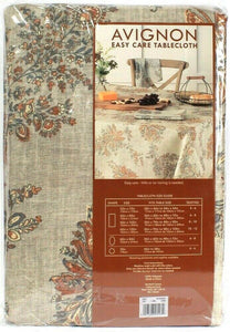 "1 Count Bardwil Linens Avignon 60"" X 120"" Rectangle Seats 10 To 12 Tablecloth"
