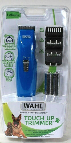 1 Count Wahl Home Products Lithium Up To 5 Hrs Touch Up Trimmer Face Ears Paws