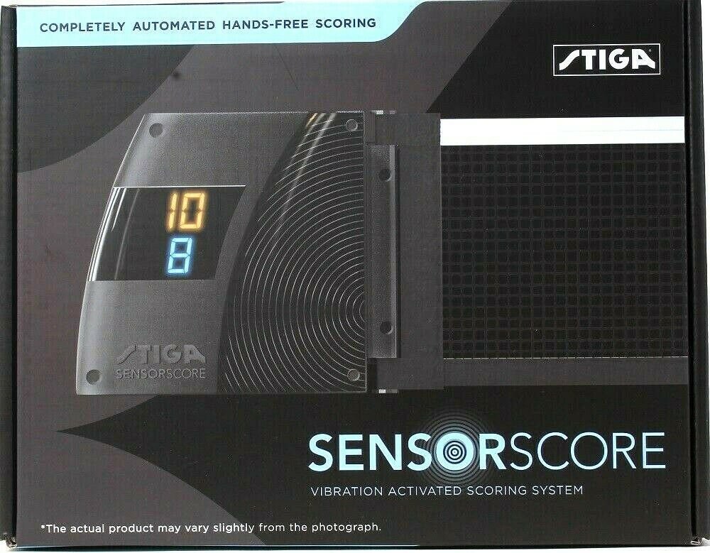 STIGA Sensorscore Complete Automated Hand Free Vibration Activated Score System