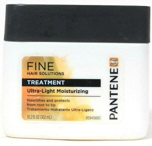 Pantene 10.2oz Fine Hair Solutions Ultra Light Moisturizing Treatment Worn Label
