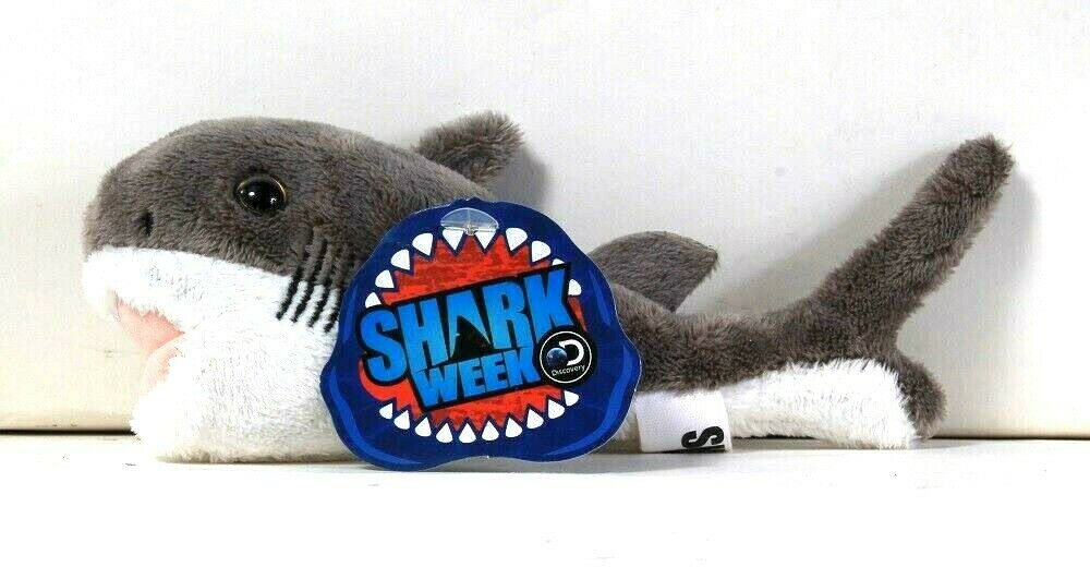 1 Count DanDee Collector's Choice Discovery Shark Week Keychain Shark Age 3 Up