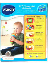 Load image into Gallery viewer, 1 Count Vtech Zoo Jams Sing & Learn Microphone 80 Plus Songs Lights & Music