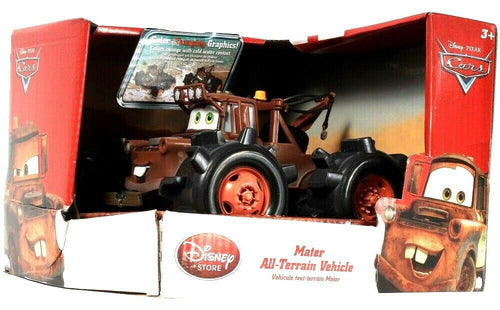 Disney Store Disney Pixar Cars Mater All Terrain Vehicle Color Change Age 3 & Up