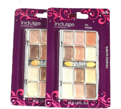 2 Indulge In Beauty 0.28 Oz 00320 Glam Eye Essentials Holiday 12 Cream Eyeshadow