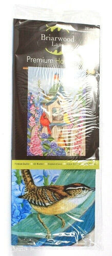 1 Count Briarwood Lane 28 In X 40 In Premium Quality House Flag Birds Of Spring