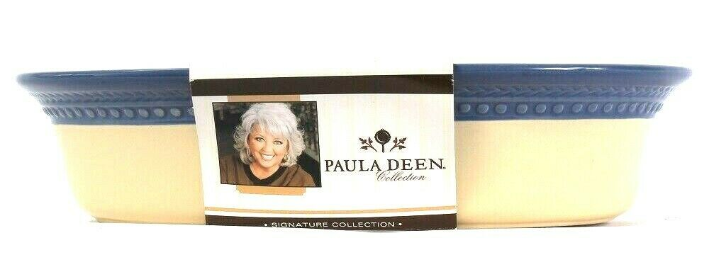 1 Count Paula Deen Signature Collection 2 Qt Au Gratin Oven To Table Stoneware