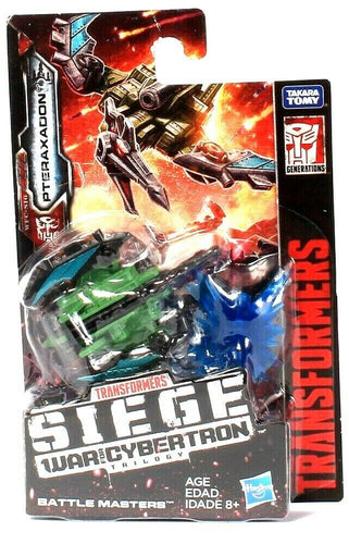 Hasbro Transformers Siege War For Cybertron Trilogy Pteraxadon Battle Masters