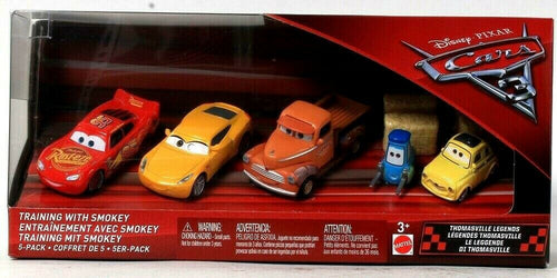 Mattel Disney Pixar Cars Thomasville Legends Training With Smokey 5 Pack 3 & Up