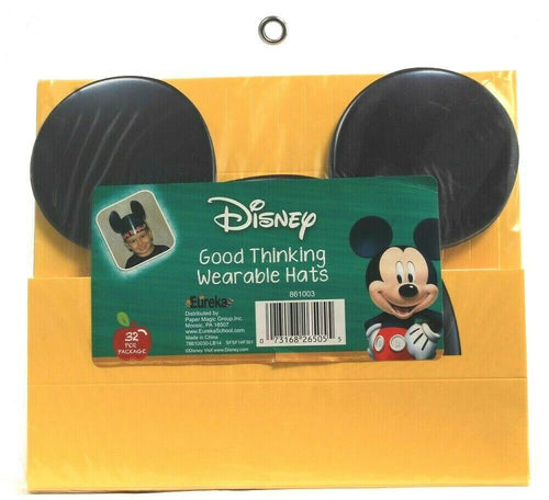 1 Eureka Disney Good Thinking Hats 32 Per Package Have Fun With Mickey Ears