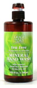 1 Bottle Dead Sea Collection 16.9 Oz Tea Tree Invigorating Mineral Hand Wash