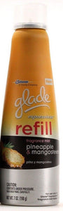 1 Glade Expressions Fragrance Mist Pineapple & Mangosteen Refills 7oz Cans