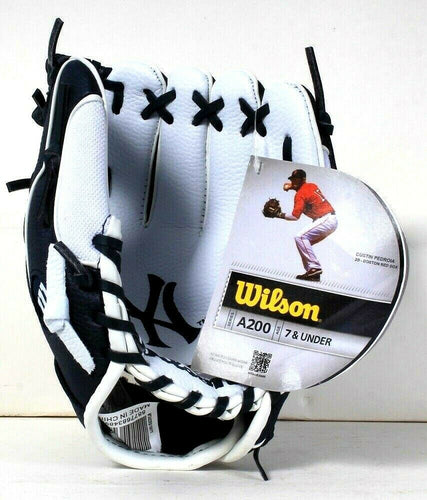 1 Count Wilson Series A200 Dustin Pedroia T Ball Glove Age 7 & Under