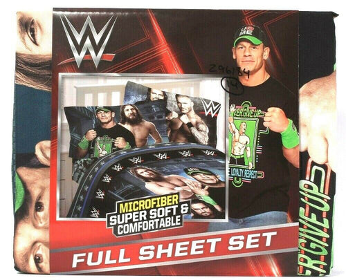 Franco Manufacturing Co WWE Industrial Strength Soft Microfiber Full Sheet Set