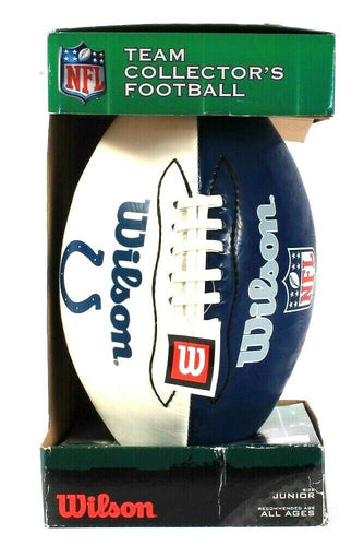 Wilson NFL Team Collector's Football Junior Size All Ages For All Associations