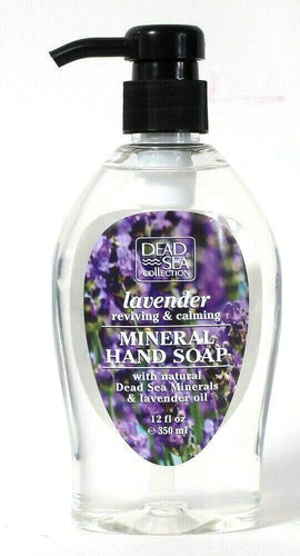 1 Bottle Dead Sea Collection 12 Oz Lavender Oil Calming Mineral Hand Soap