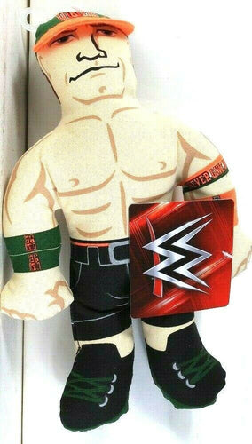 1 Count Petmate WWE John Cena Plush With Squeaker Inside Toy For Dogs