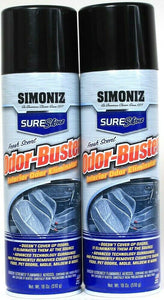 2 Ct Simoniz 18 Oz SureShine Fresh Scent Interior Odor Buster Eliminator