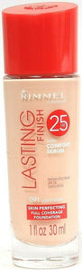 Rimmel Lasting Finish 25 HR w Comfort Serum 091 Light Ivory Skin Perfecting 1 oz