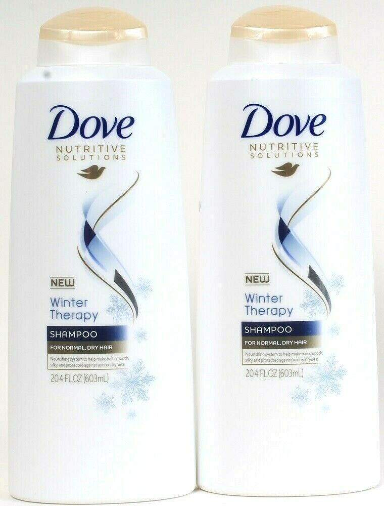 2 Ct Dove Nutritive Solutions 20.4 Oz Winter Therapy Normal To Dry Hair Shampoo