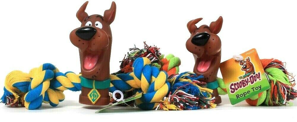2 Ct Scooby-Doo Multi Colored Perfect For Fitness & Fun Hours Of Play Rope Toy