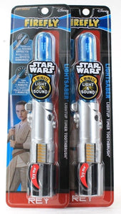 2 Disney Firefly Star Wars I Minute Light And Sound Lightsaber Toothbrush