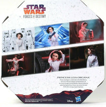 Load image into Gallery viewer, Hasbro Disney Star Wars Forces Of Destiny Platinum Edition Princess Leia Organa