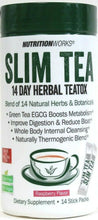 Load image into Gallery viewer, 1 NutritionWorks 14 Ct Raspberry Slim Tea 14 Day GF Vegan Herbal TeaTox BB 6/20