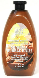 1 Ct Dead Sea Collection 33.8 Oz Almond Vanilla Balancing Mineral Bubble Bath