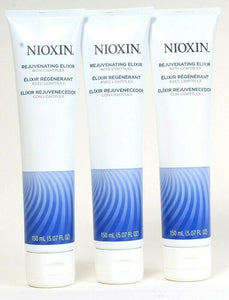 3 Ct Nioxin 5.07 Oz Rejuvenating Elixir With Lightplex Leave In For Soft Hair