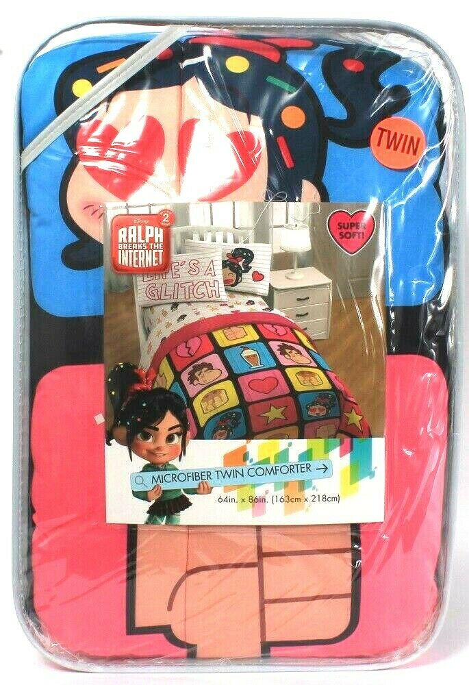 Jay Franco & Sons Disney Wreck It Ralph Breaks The Internet 2 Twin Comforter