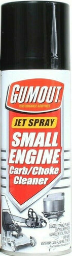 1 Cans Gumout 6 Oz Small Engine Carb & Choke Quick & Easy Cleaner Jet Spray