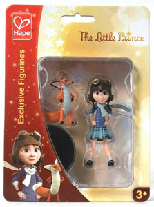 Hape The Little Prince Exclusive Figurines 824761 Little Girl & The Fox Age 3 Up