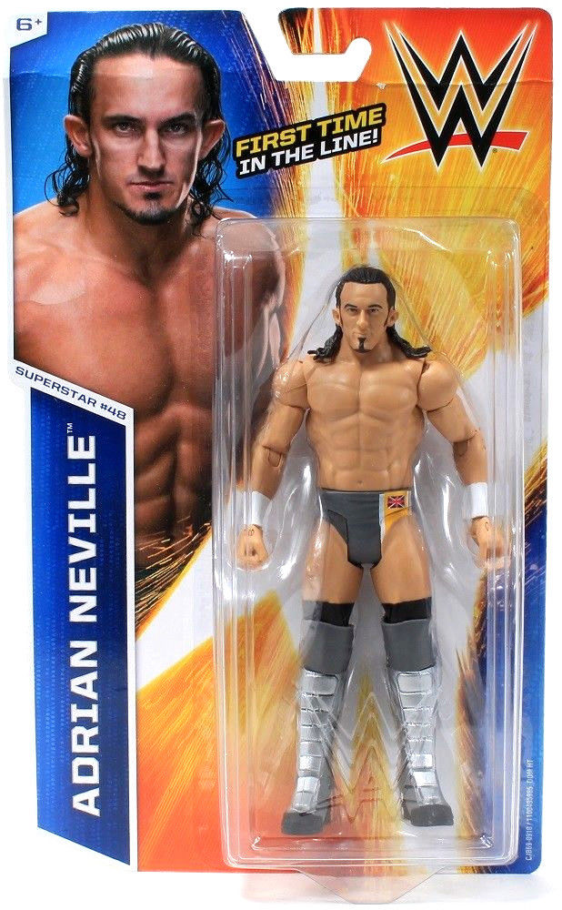 Mattel WWE Adrian Neville Superstar #48 First Time In The Line Action Figure