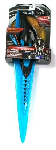Bandai Saban's Power Rangers Sound Lighted FX Blade Power Sword Black Age 4 & Up