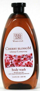 1 Ct Dead Sea Collection 33.8 Oz Women Style Cherry Blossom Relaxing Body Wash